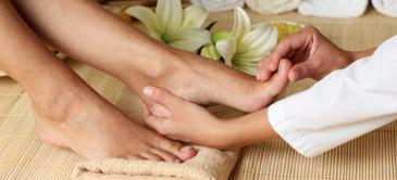 Curso de técnicas de masajes para los pies