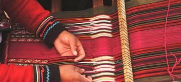 Curso de bufandas en telar paso a paso