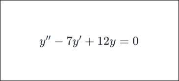 curso de ecuaciones diferenciales