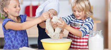 Curso de recetas de cocina divertidas para niños: parte 1