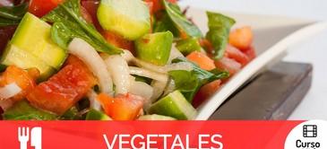 Curso de recetas con vegetales