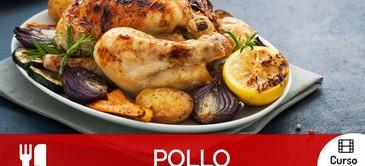 Curso de recetas creativas con pollo